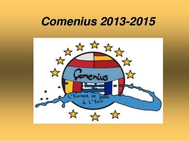 Comenius 2013-2015