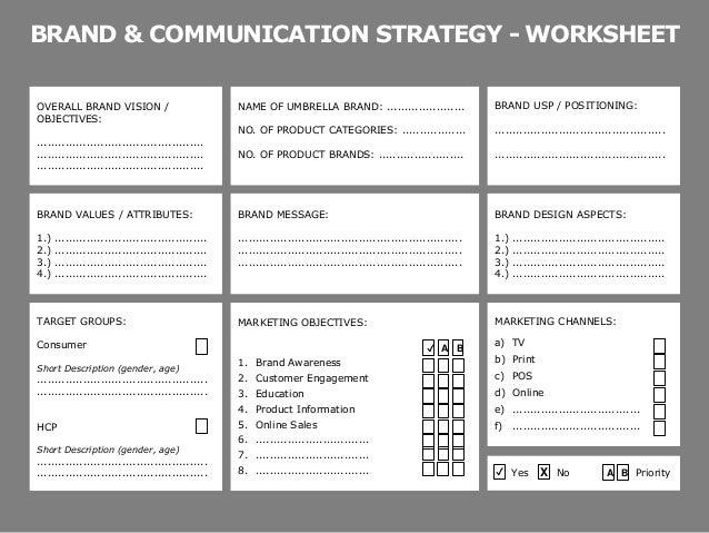 All Worksheets communication worksheets : Workshop Worksheets for Website Relaunch
