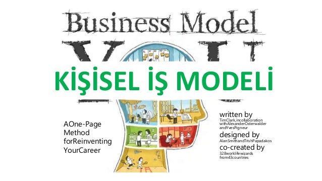 KİŞİSEL İŞ MODELİ  AOne-Page  Method  forReinventing  YourCareer  Tweet This!  written by  TimClark,incollaboration  withA...