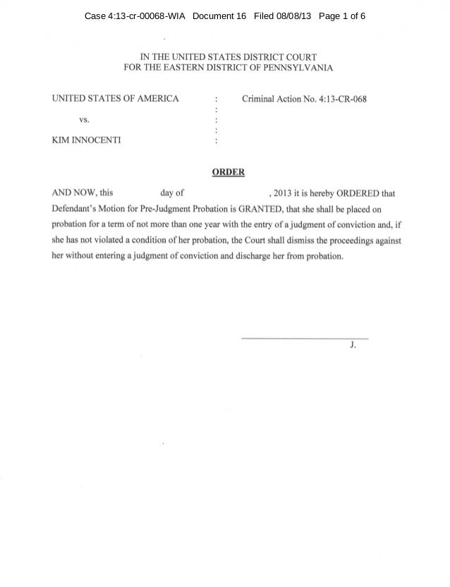 Case 4:13-cr-00068-WIA Document 16 Filed 08/08/13 Page 1 of 6