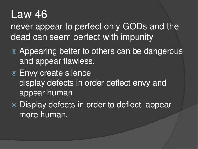 Kijohn power point 48 laws of power updated sciox Images