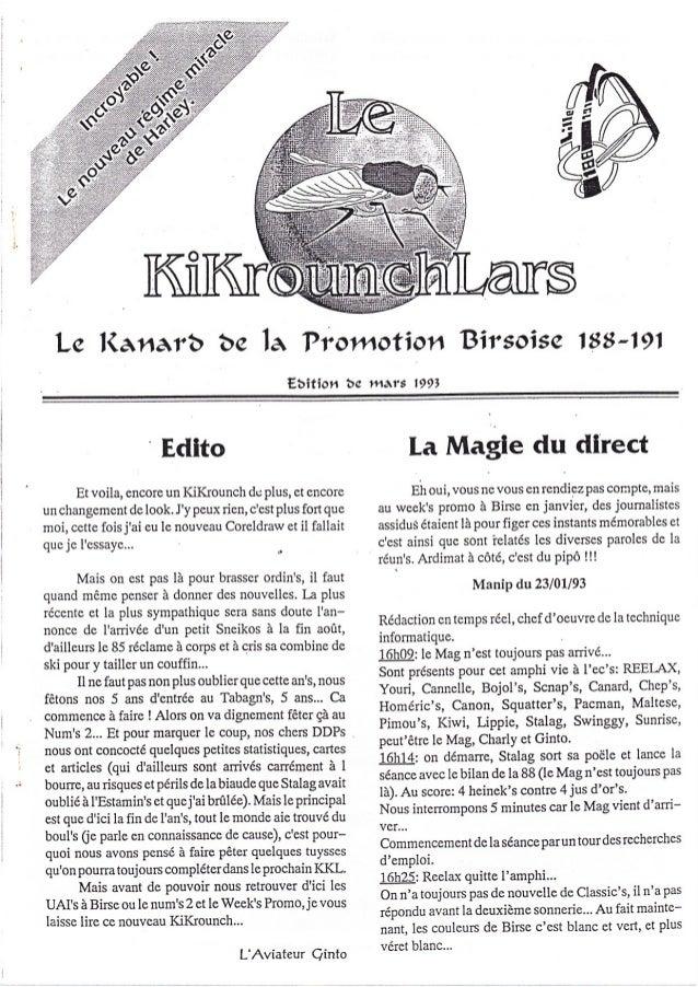 Le l(anarô be la Pro*rction Birsoise 188l9l                                               Eôitiotr bs ttt^îs l99t         ...