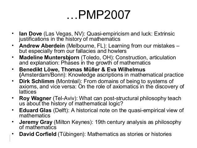 Quasi-empiricism in mathematics