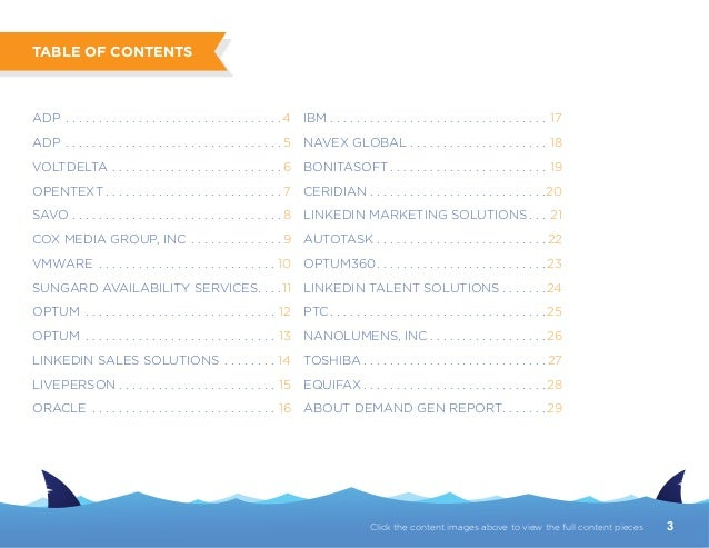 2014 Killer Content Awards Report Slide 3