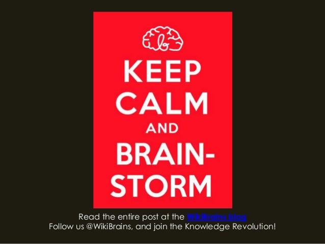 Read the entire post at the WikiBrains blogFollow us @WikiBrains, and join the Knowledge Revolution!