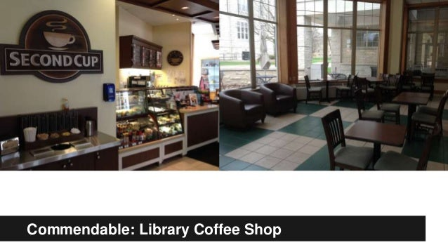Commendable: Library Coffee Shop