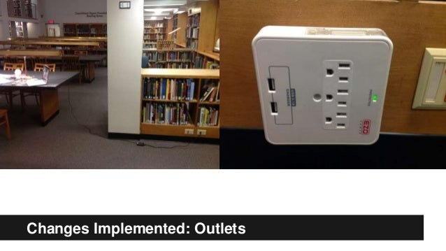 Changes Implemented: Outlets