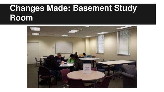 Changes Made: Basement Study Room