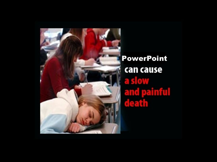 <ul><li>STOP </li></ul><ul><li>Killing Your Students with PowerPoint </li></ul>