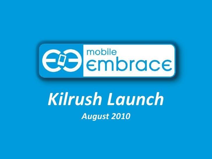 Kilrush Launch August 2010<br />