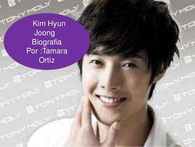 Kim Hyun  Joong BiografiaPor :Tamara   Ortiz