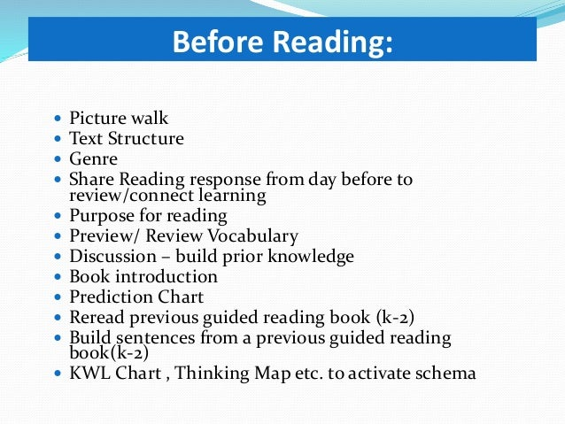 Kimball Guided Reading Day 1