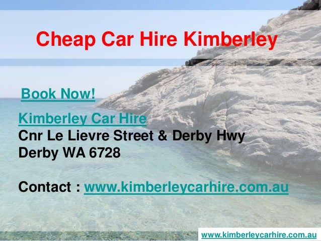 Broome To Derby Car Hire