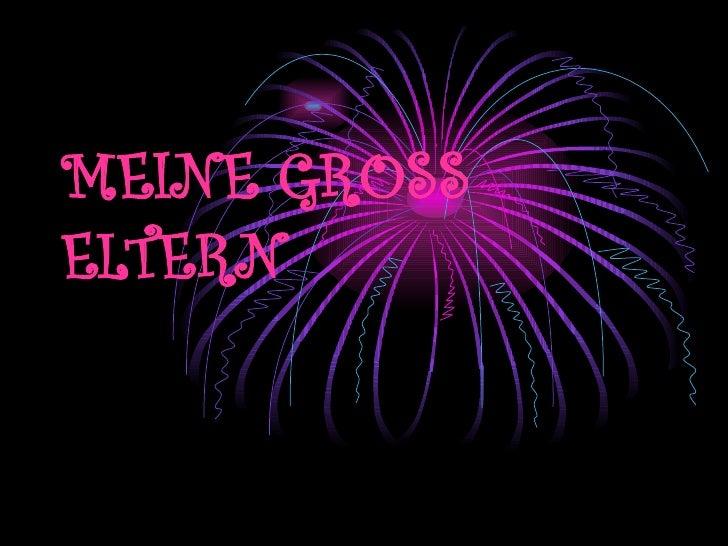 MEINE GROSS ELTERN