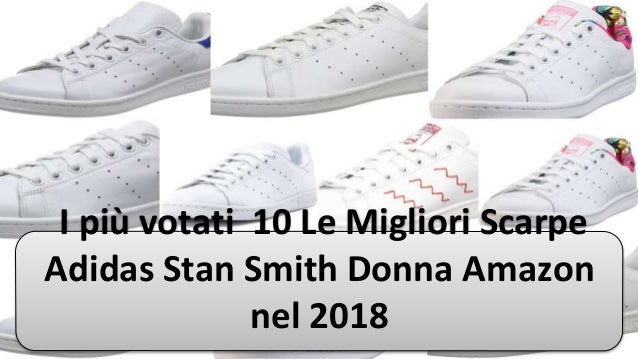 scarpe adidas donna 2018 stan smith