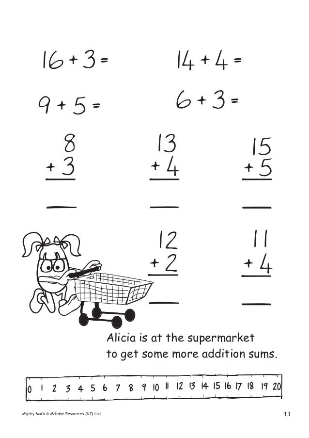 Kim freeman mighty math for 4-6 year olds introducing addition and s…