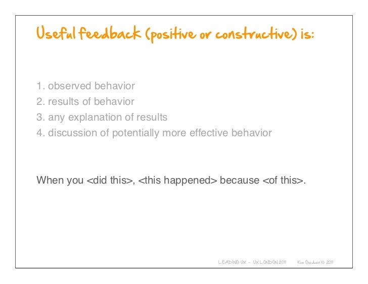 1. observed behavior2. results of behavior3. any explanation of results4. discussion of potentially more effective behavio...