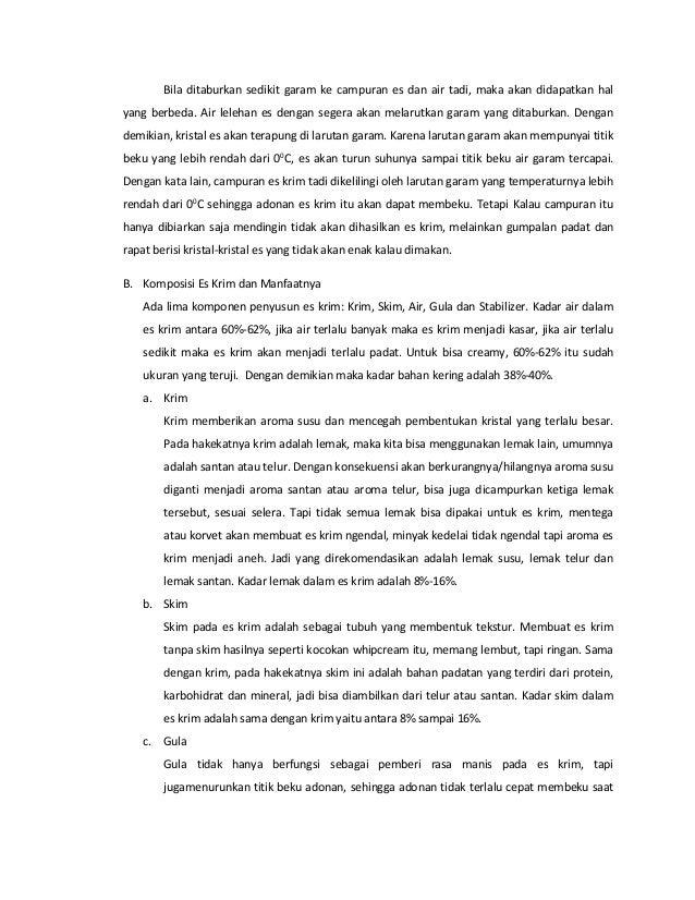 Kimia Terapan - Pembuatan Es Krim Slide 2