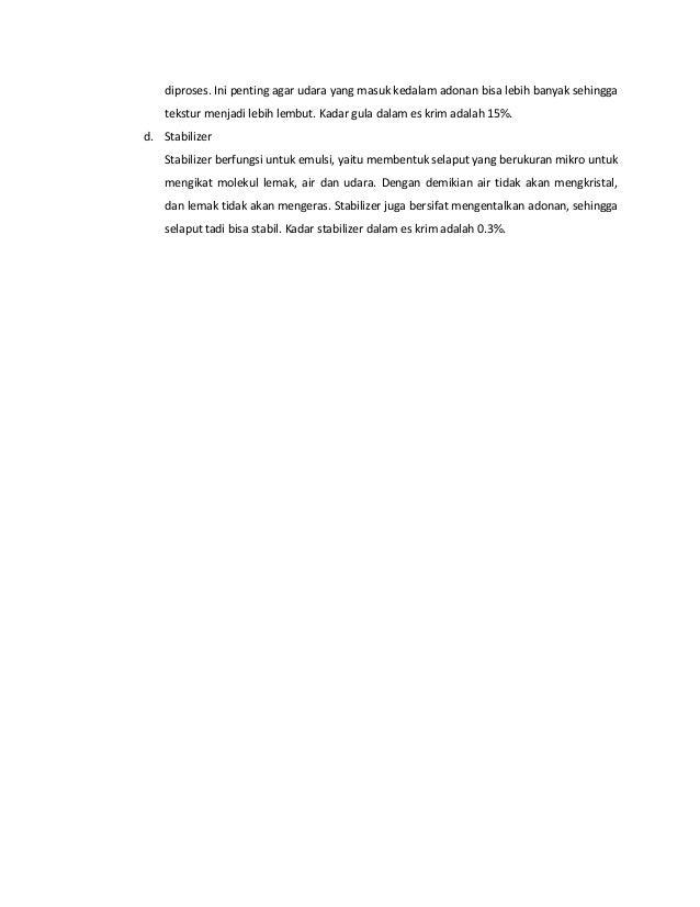 Kimia Terapan - Pembuatan Es Krim Slide 3