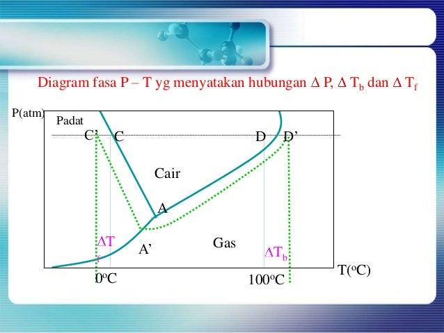 Kimia penurunan titik beku diagram fasa ccuart Images