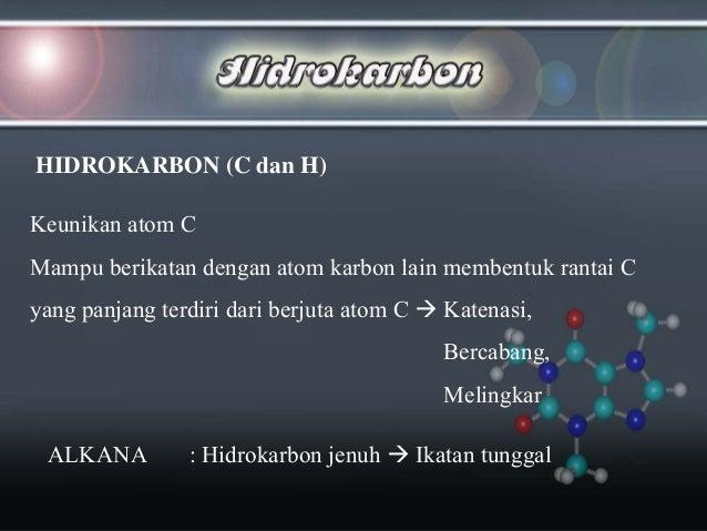 Kimia organik hidrokarbon Slide 2