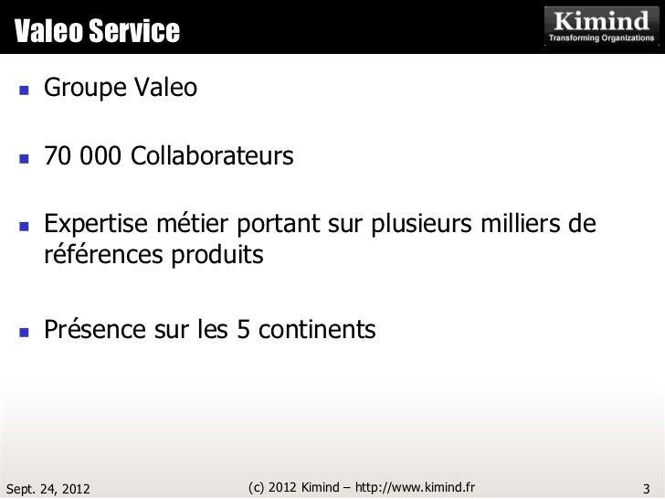 Valeo techassist avec xwiki retour d 39 exp rience - Mr bricolage vincennes ...