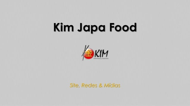 Kim Japa Food  Site, Redes & Mídias