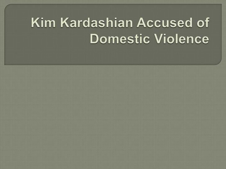  Kim    Kardashian is accountable of domestic violence, said Dr. Drew. Theaddiction professional was probably very willi...
