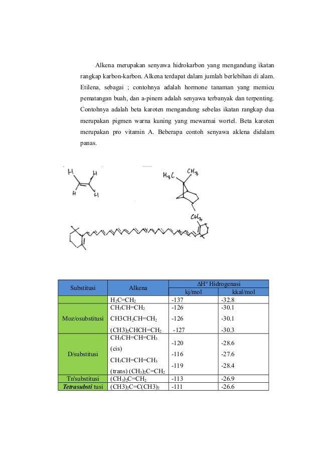 Laporan Kimia Organik Hidrokarbon