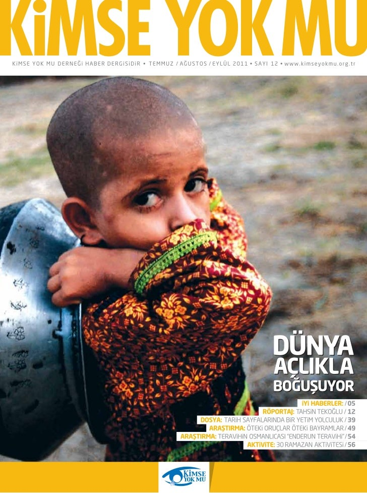 Kimse Yok Mu Dernegi Ramazan 2011 Dergisi