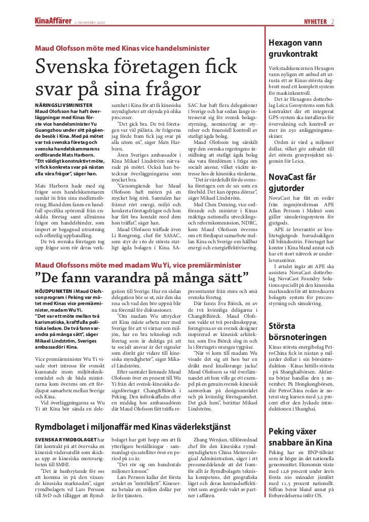 Ericsson far kinaorder 2