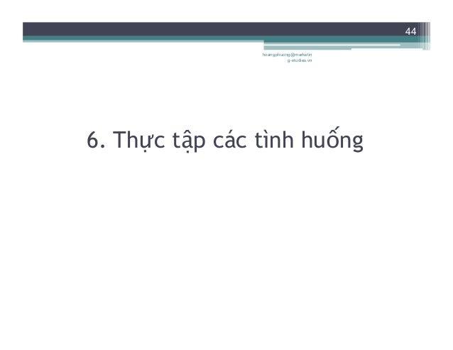 """45 Tình huống 1 • KH: """"Chào. Tôi tên là Trung. Tôi phải nói chuyện với anh Thái ngay lập tức"""". • NV: """"...Xin lỗi anh như..."""