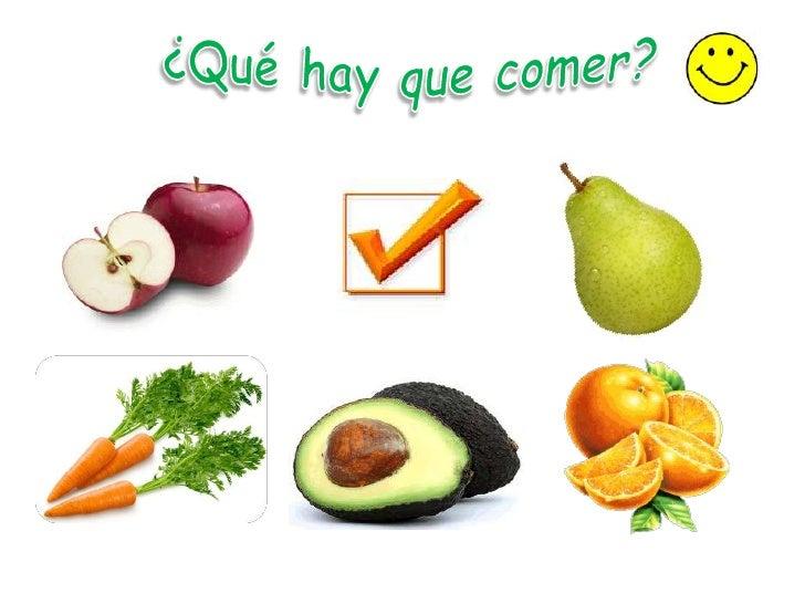 Alimentacion saludable y recreacion para niños