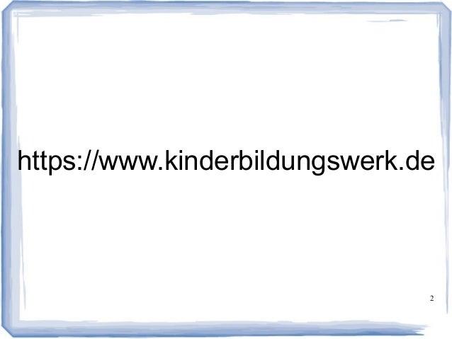 Gemeinnütziges Kinderbildungswerk: Unsere Mission Slide 2