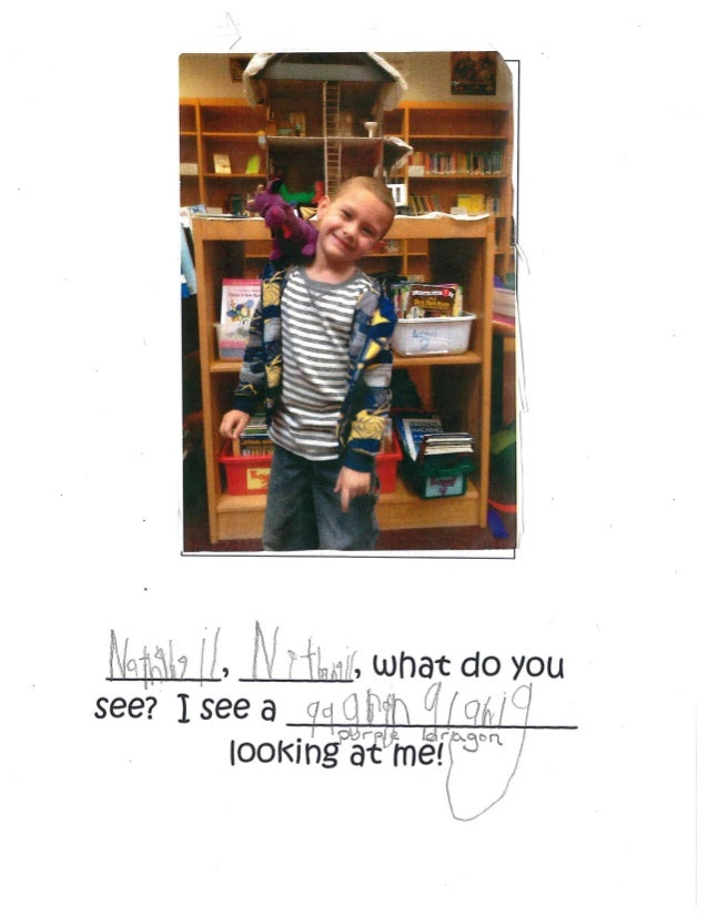 Kindergartem, Kindergarten, What do you see? with Ms. Taylor's Class