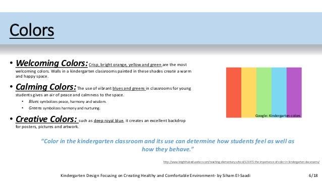Kindergarten Design Focusing On Creating Healthy And