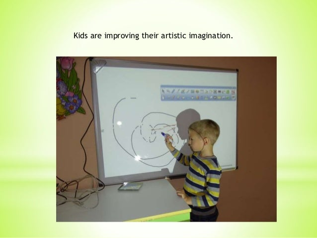 Kids are improving their artistic imagination.