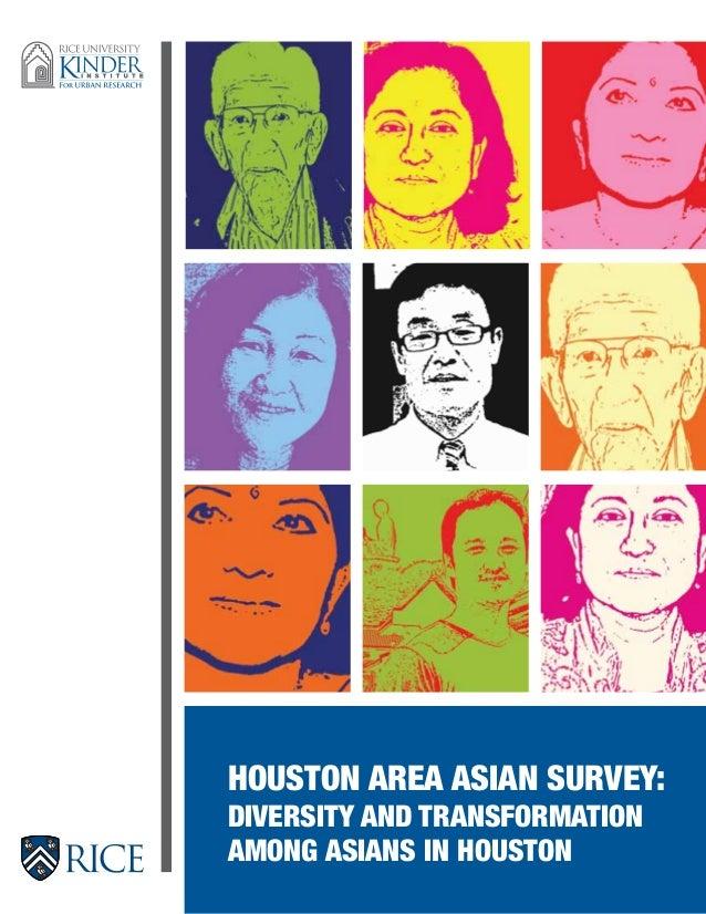 Houston Area Asian Survey:DIVERSITY AND TRANSFORMATIONAMONG ASIANS IN HOUSTON