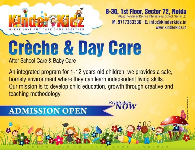 daycare advertisement