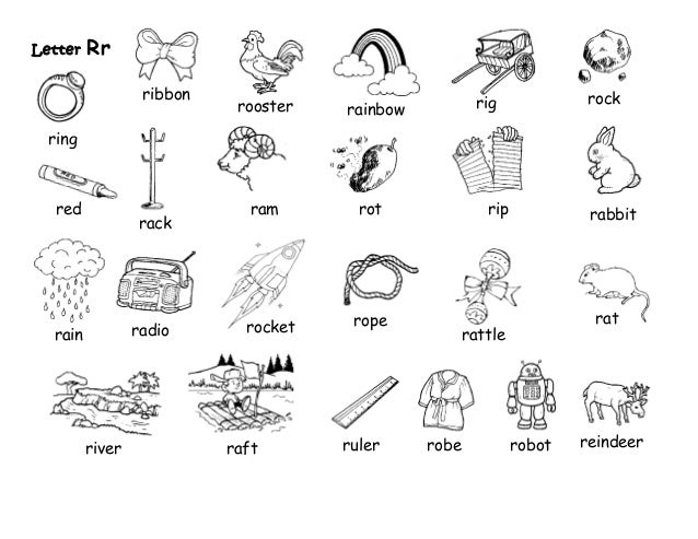 english kinder  letters of the alphabet