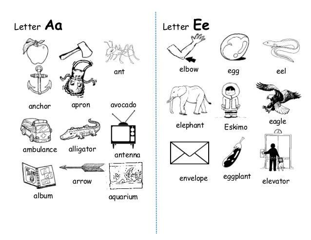 English Kinder (Letters of the Alphabet) Slide 2