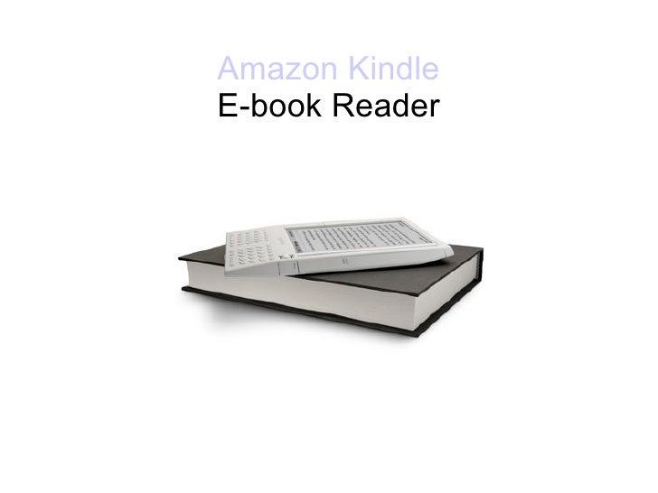 Amazon Kindle   E-book Reader