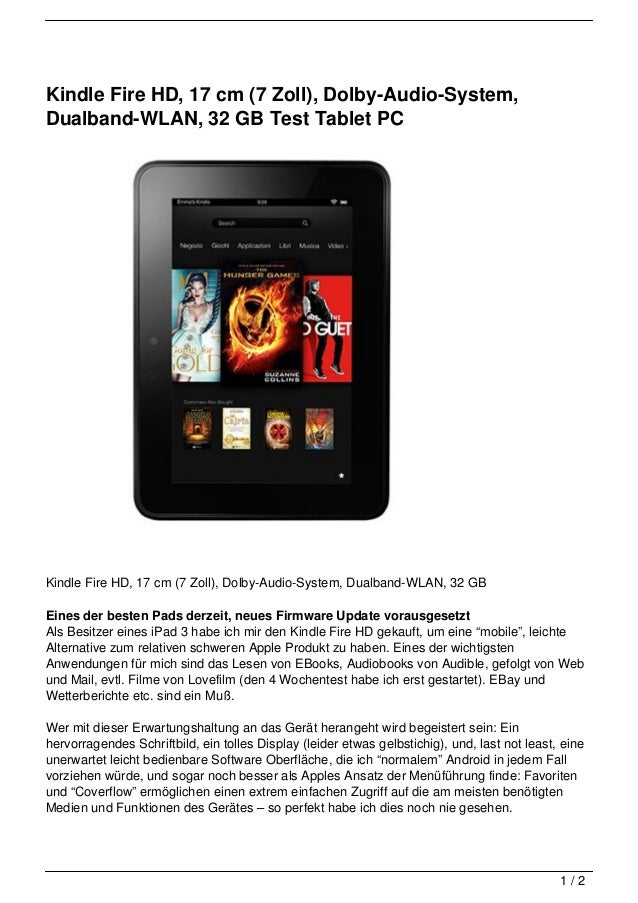 kindle fire hd 17 cm 7 zoll dolby audio system. Black Bedroom Furniture Sets. Home Design Ideas