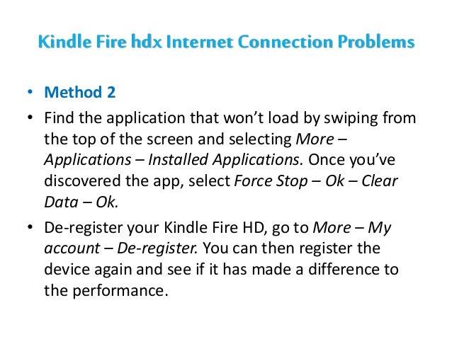 Kindle Fire Internet Connection Problem | 1-844-850-8476 ...