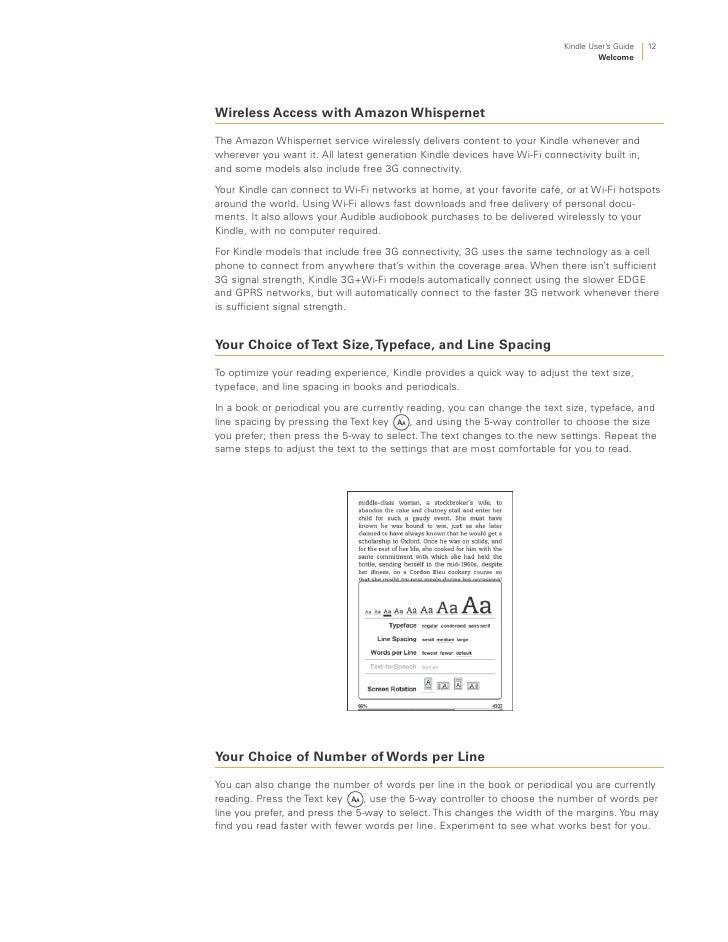 kindle user guide rh slideshare net kindle paperwhite 3g user guide Kindle User Guide Latest Edition
