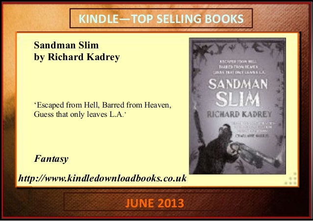 Kindle top book sales june 2013 | Kindle Top Selling Books ...