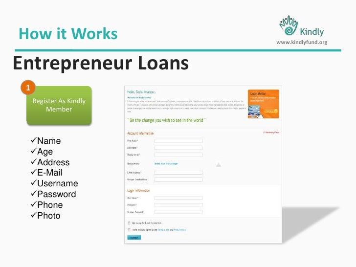 6 Month  - 60 Month Repay  (Flexible – Entrepreneur Selection)