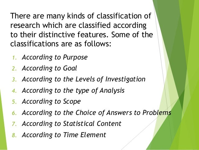 Taxonomy identification study and use