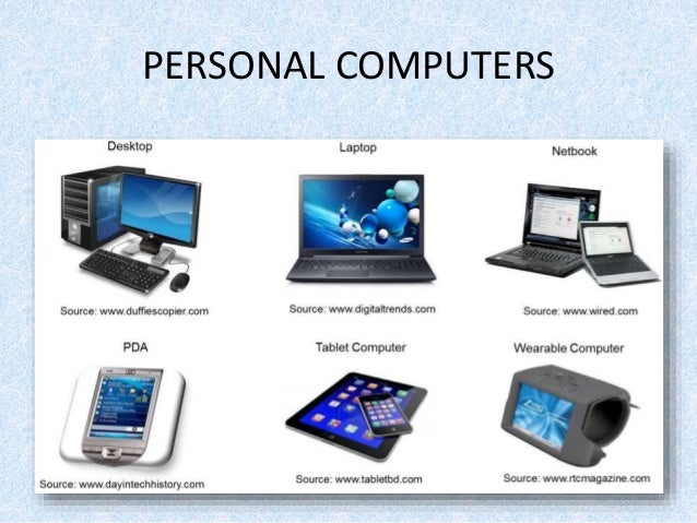 kinds of computer g9