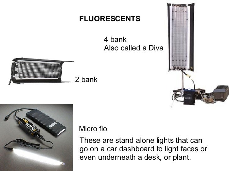 FLUORESCENTS 4 bank Also called a Diva 2 bank Micro flo These are stand alone lights that can go on a car dashboard to lig...